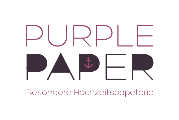 Logo Purple Paper