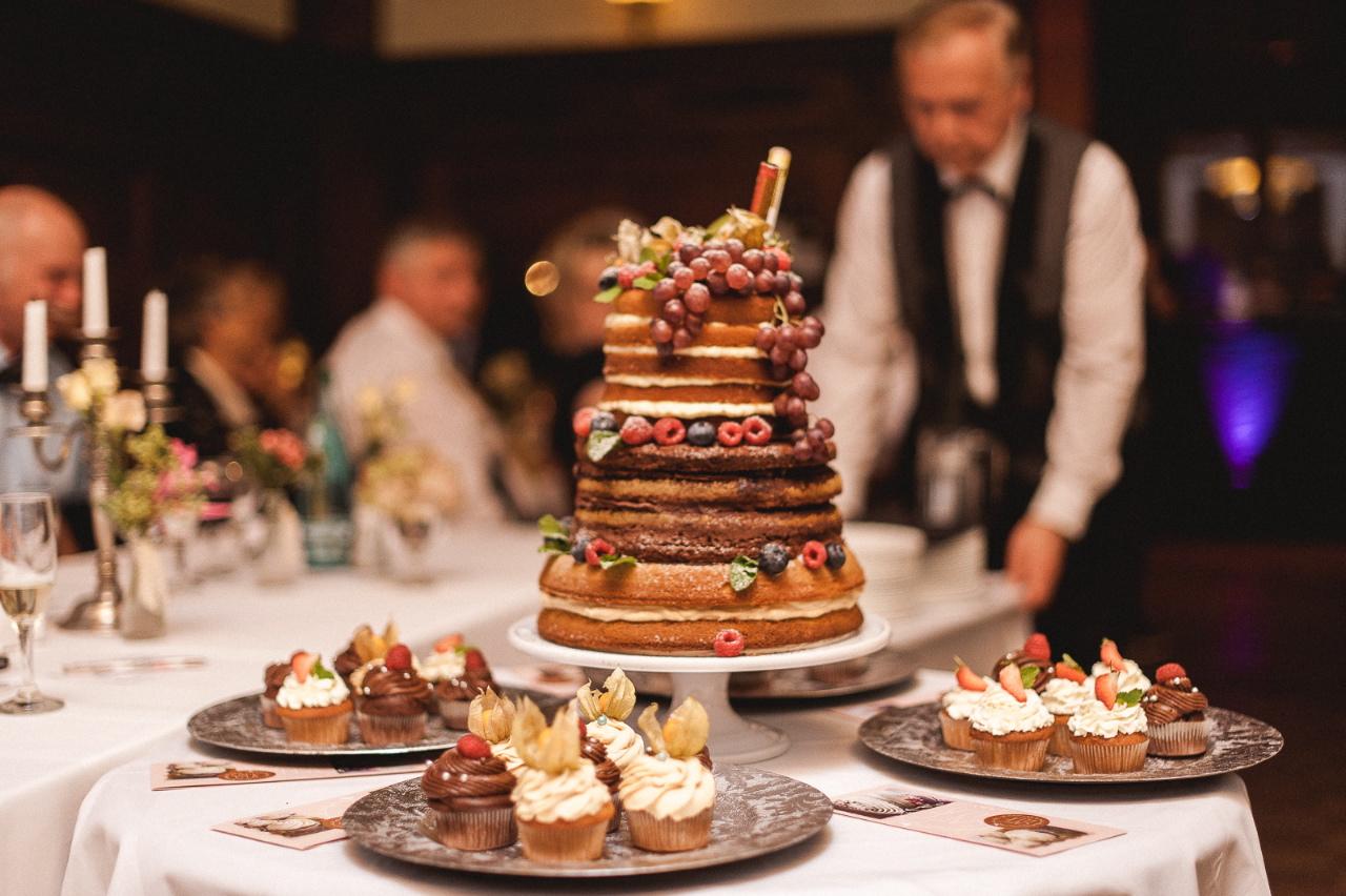Handgemachte Hochzeitstorten aus dem Café Ella
