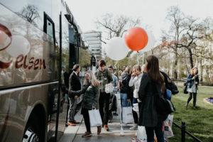 Die Busse für die mobile Hochzeitsmesse