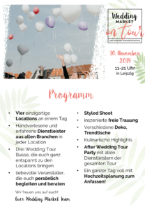 Programm Wedding Market 2019