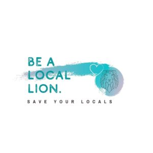 Be A Local Lion Logo