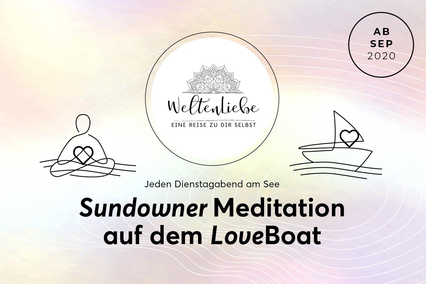 Sundowner Meditation mit Weltenliebe auf dem LoveBoat